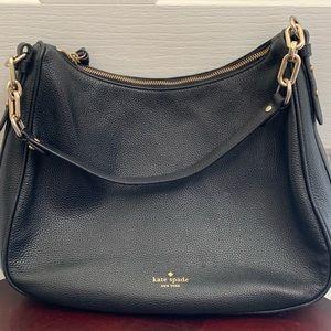 Kate Spade pebble leather shoulder bag